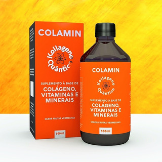 Original Colamin Colageno Vitaminas 500ml Fisioquantic