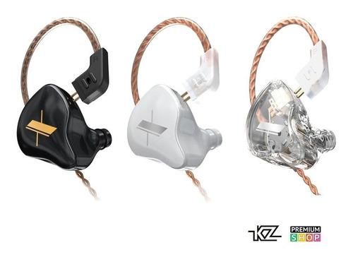 Imagen 1 de 5 de Auriculares In Ear Kz Edx - Hifi 1dd Monitoreo 112db