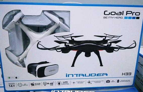 Drone Goalpro Intruder H33 2.4 Wi +ocu B Original E Lacrado