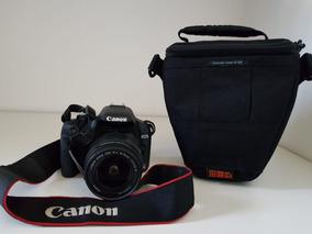 Camera Fotografica Semi-profissional Canon Eos Rebel T1i