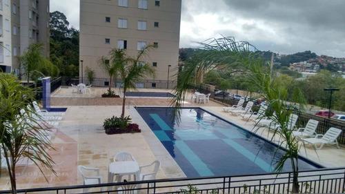 Apartamento Com 2 Dormitórios À Venda, 46 M² Por R$ 255.000,00 - Villas Da Granja - Carapicuíba/sp - Ap0222