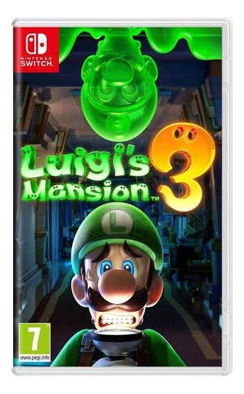 Luigis Mansion 3 Switch Mídia Física Novo Lacrado
