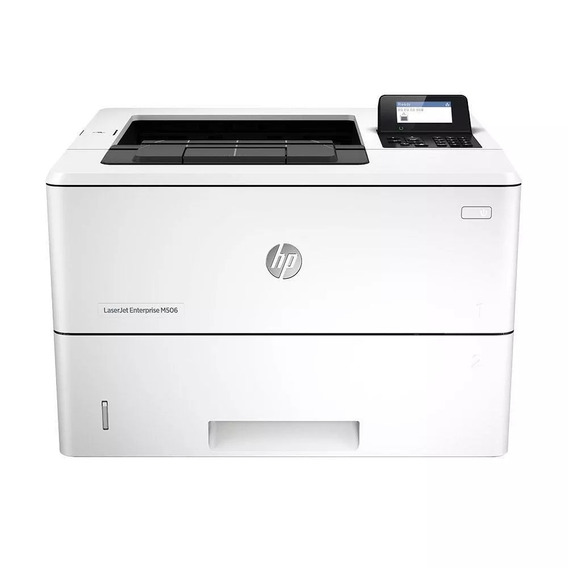 Impressora Hp Laserjet Enterprise Mono M506dn Branco