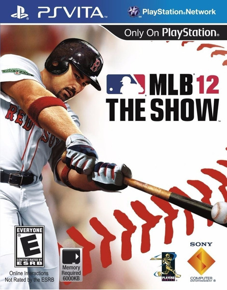 Lacrado Mlb 12 The Show Ps Vita Jogo Novo Baseball