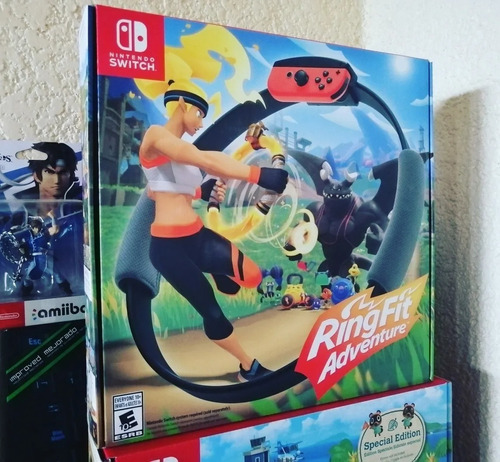 Ring Fit Adventure Nintendo Switch Aro Ejercicio Original