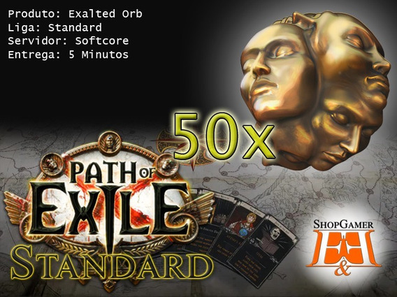 50x Exalted Orb - Path Of Exile - Standard - Pc