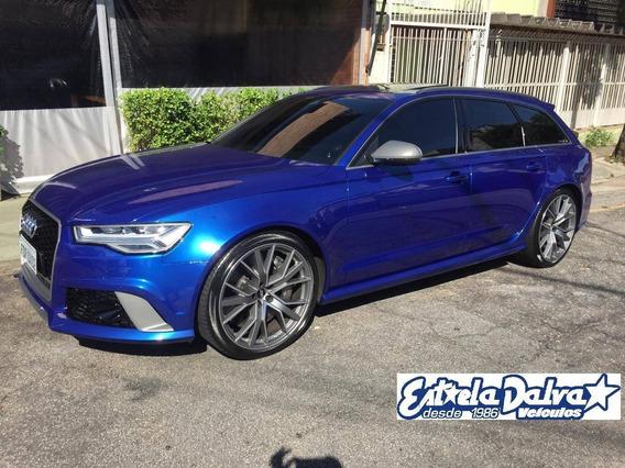 Audi Rs6 4.0 Avant V8 32v Bi-turbo Gasolina 4p Tiptronic