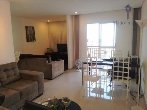 Imagem 1 de 29 de Apartamento Com 2 Dormitórios À Venda, 70 M² Por R$ 351.000 - Condomínio Evidence - Vila Trujillo - Sorocaba/sp - Ap1504
