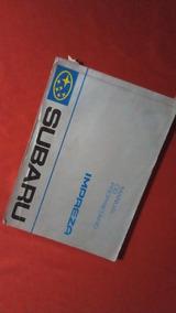 Manual Do Proprietario Subaru Impreza