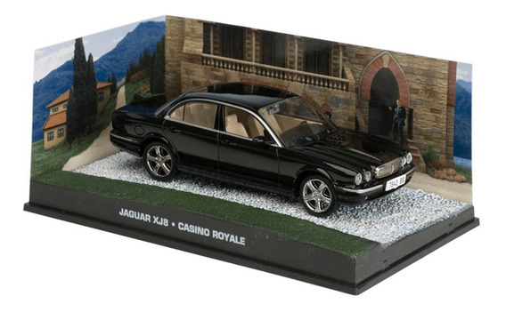 Miniatura Carros James Bond 007 - Jaguar Xj8 Casino Royale