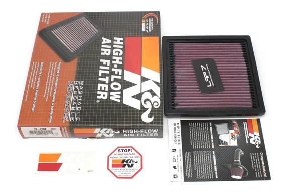 Filtro De Ar Esportivo Inbox K&n Vw Gol | Fox | Saveiro | Golf | Polo | Virtus | 1.6 16v Msi Flex 120cv Kn 33-2104