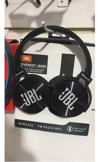 Fone De Ouvido -bluetooth Jbl 950super Bass-fm-mp3-sd-top.