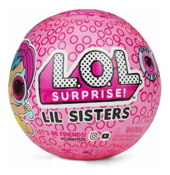 Mini Boneca Surpresa Lol Surprise Lil Sisters Série 4