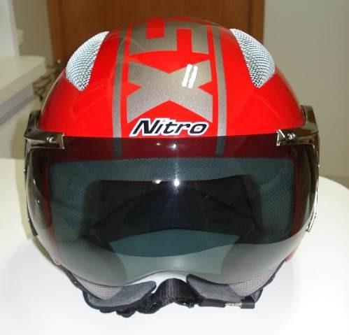 Capacete Nitro X536au Harley Drag Star Midgnite V Roud