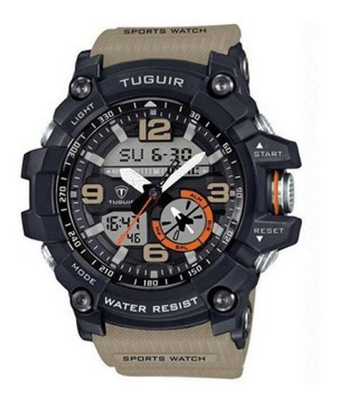 Relógio Tuguir Bege Tg6009