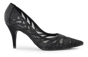27df86d2c0 Zapato De Mujer Stiletto De Cuero Y Biyoné Austin - Ferraro- por Ferraro