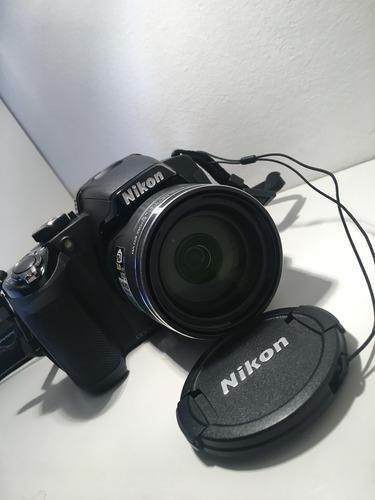 Camera Nikon Full Hd Semiprofissional Zoom Wide 42x Com Case