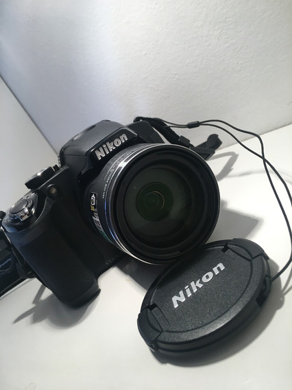 Camera Nikon Full Hd Semiprofissional Zoom Wide 42x Com Case