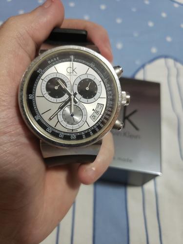 Relógio Masculino Suíço Calvin Klein Cronógrafo Raro