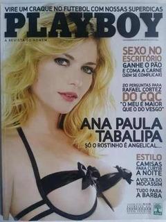 Playboy Ana Paula Tabalipa Outubro De 2008