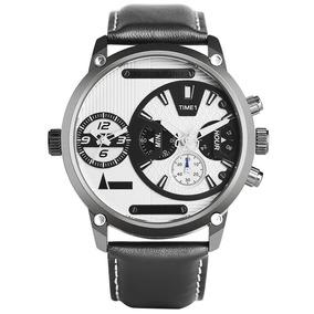 Relógio Keller & Weber Relógios Dual Zone Tempo .