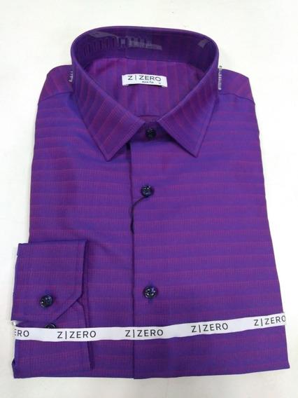 Camisa Masculina Sport Fino Slim Fit Zafferano Manga Longa