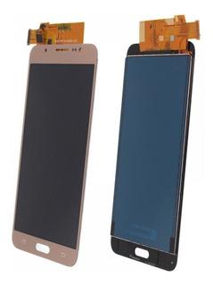 Tela Touch Frontal Display J710 J7 Metal Dourado