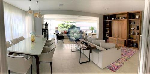 Luxuoso Apartamento No Condomínio Mais Desejado Do Brooklin - Mb10610