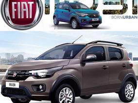 Fiat Mobi 1.0 Way Mt Abs Airbag Barras Ac 69hp R14 Elect Arh