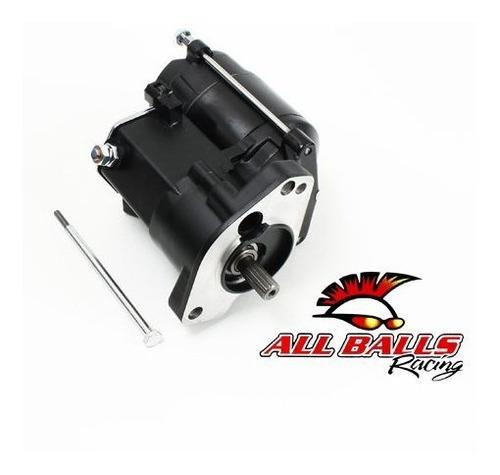 Imagen 1 de 2 de Motor De Arranque All Balls 1.4kw Negro Para Harley Big Twin