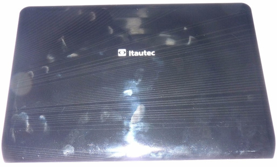 Tampa Superior Da Tela Do Notebook Itautec W7435 - Seminova