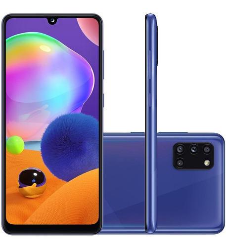 Celular Samsung Galaxy A31 Azul 128gb Tela 6.4 4gb Ram