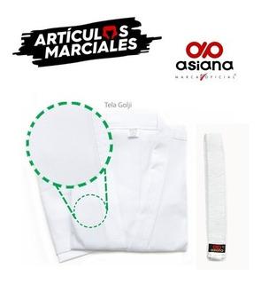 Uniforme Karategui Nuevo Golji Blanco Asiana - Envio Gratis