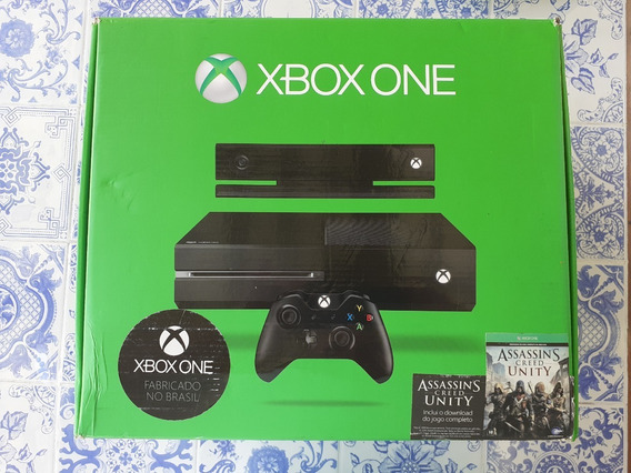 Xbox One 500gb + Kinect + 1 Controle + 2 Jogos
