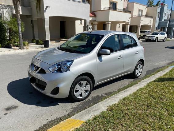 Nissan March Sense 1.6 Std Color Plata 18,000 Km