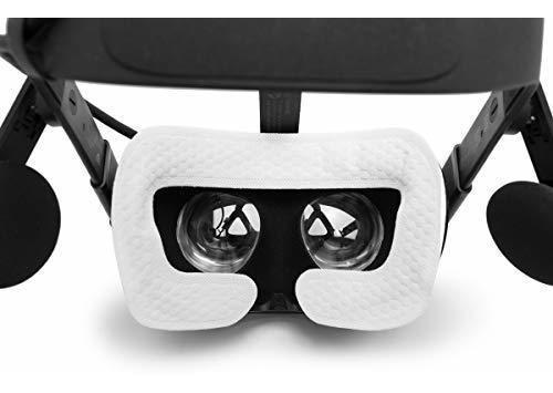 50PCS VR M/áscara Higiene Desechable Cubierta De La Cara M/áscaras Almohadilla para HTC Vive Pro Auriculares Sony PSVR Playstation PS4 VR Oculus HP Samsung Windows VR