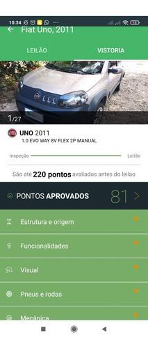 Uno Way 2012 - Completo - 110 Mil Km
