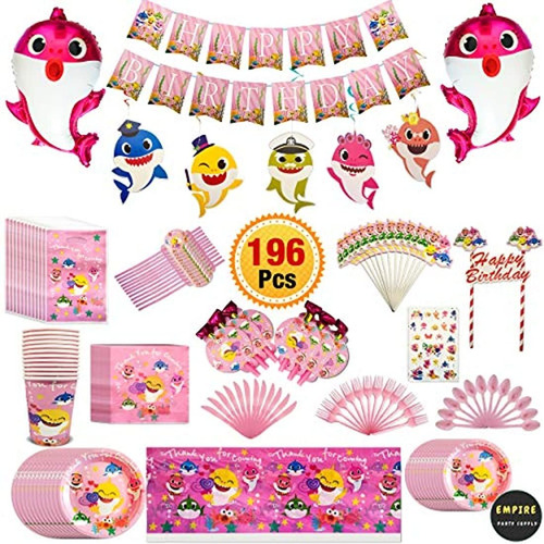 Kit Decoraciones Cumpleaños Globos Tatuaje Etiqueta