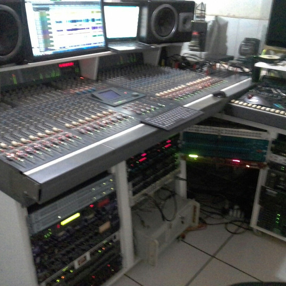 Mesa De Som Soundcraft Dc 2000 Funcionando Bem