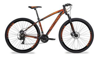 Bicicleta Aro 29 Acera, 24 Vel Freio Hidráulico E Trava Ksw