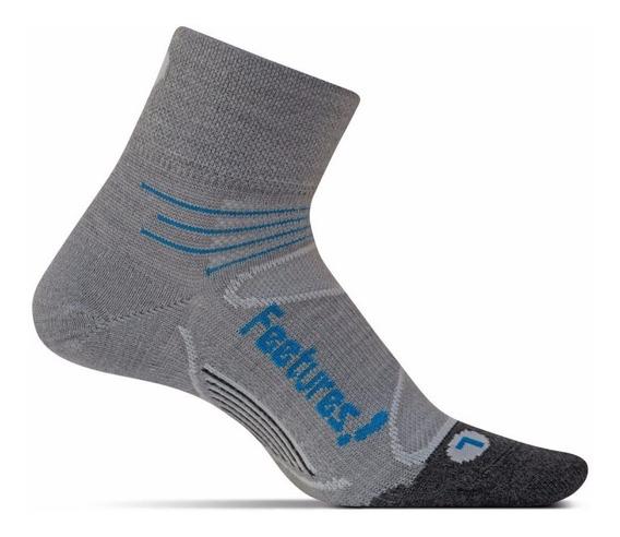 Medias Feetures Merino + Ultra Light Quarter Running Unisex