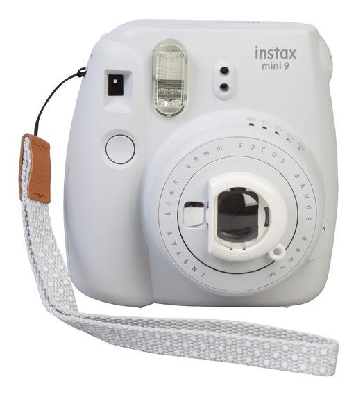 Câmera Fujifilm Instax Mini 9 Branco Fosco + Filme 60 Poses