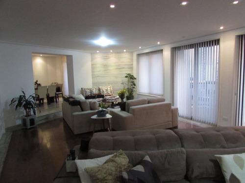 Apartamento 1 Por Andar Com 4 Dormitórios, 3 Suítes, 5 Vagas De Garagem, Lazer Completo No Tatuapé - 14125