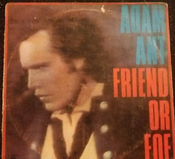 Adam Ant Friend Or Foe Vinilo