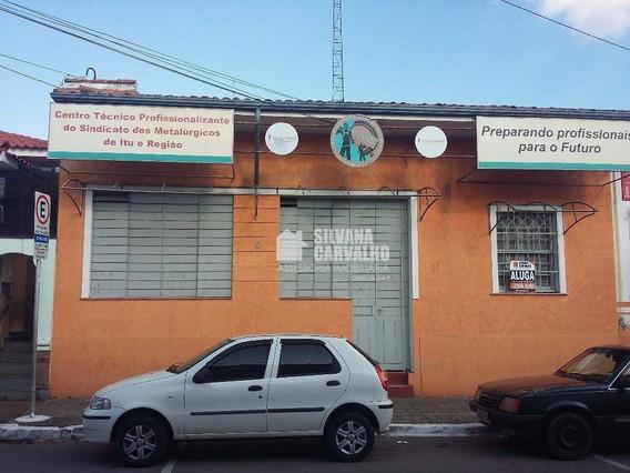 Casa Comercial Para Locação No Centro Em Itu. - Ca5039