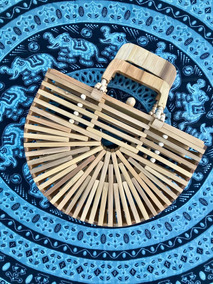 Bolsas De Bamboo Originais De Bali - Indonésia