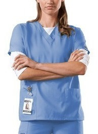 Uniformes Médicos Cherokee, Azul Cielo.talla Xxs