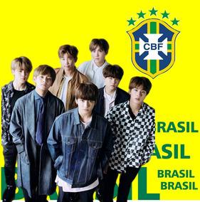 Camisa Copa Brasil Bts 2018 Frete Gratis 12