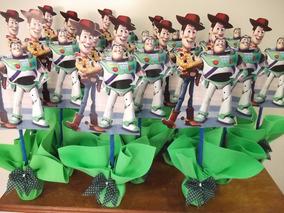 Centro Mesa Toy Story Kit 10 Pçs