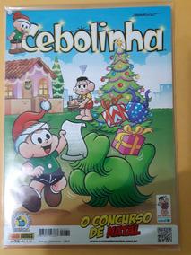 Revista Cebolinha N°32 - O Concurso De Natal